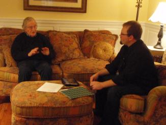 Raging Chicken Press interview w/ Noam Chomsky | 11/22/2011