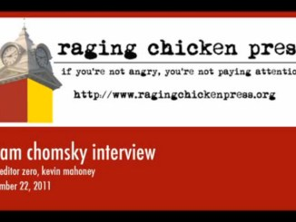 Noam Chomsky Interview Title