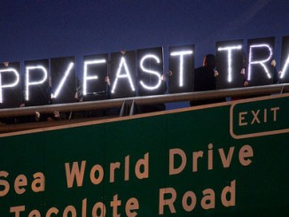 """Photo Credit: """"San Diego Day of Action,"""" by Stop FastTrack, Flickr"""