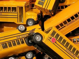 "Photo credit: ""school buses,"" by Dean Hochman, Flickr."