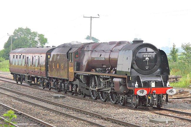 Rail Album - LMS Steam Locos - Non-Streamlined Princess Coronation
