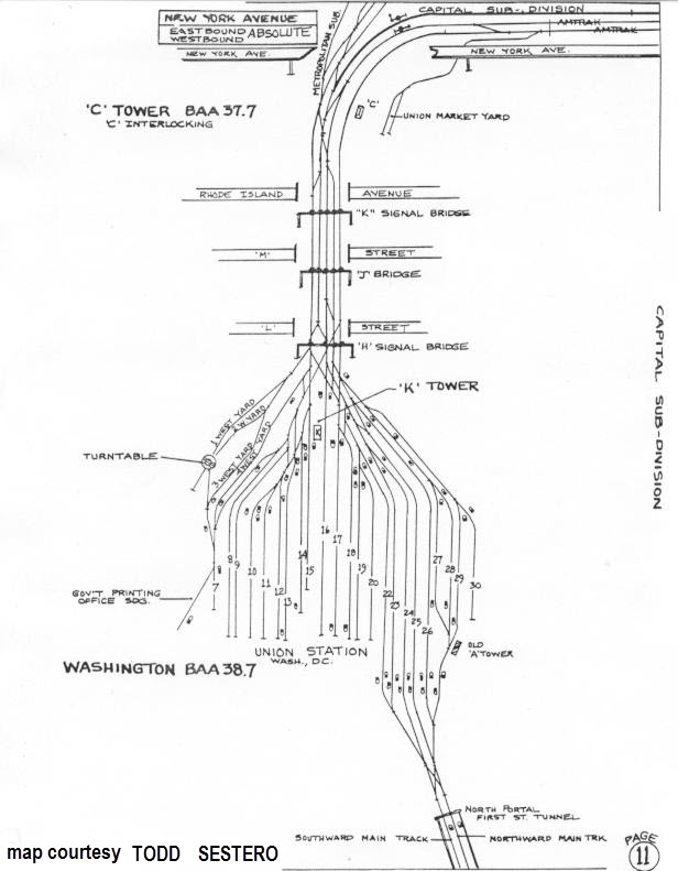 diagram of washington dc