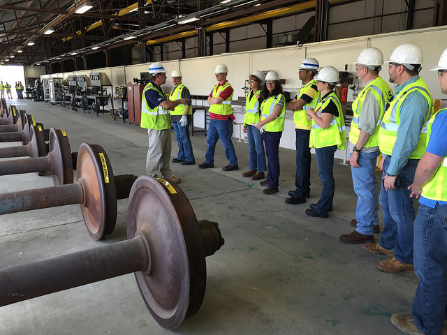 Railinc Employees Get Rail Training at CSX REDI - Railinc Tracks