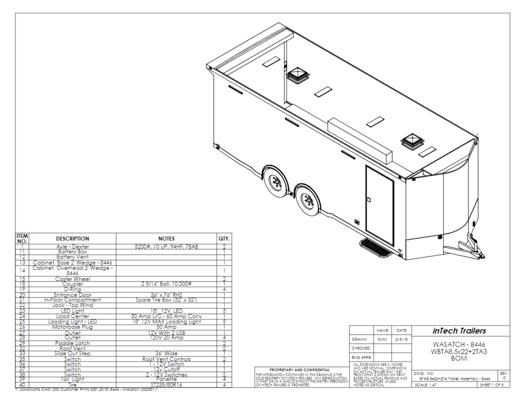 camping trailer wiring diagram