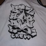 Badlzone Crew screen printed tank
