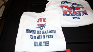 JFK State Swim & Dive T-shirts