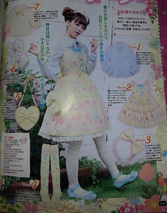 Angelic Pretty Whip Show Case ホイップShow Case