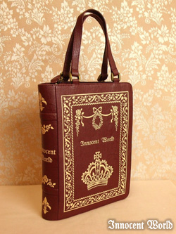 Innocent World Antique Book Bag