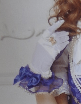 Angelic Pretty Crystal Dream Carnival Satin Gloves