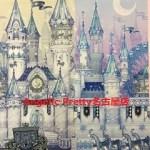 Angelic Pretty Castle Mirage Fabric Swatch