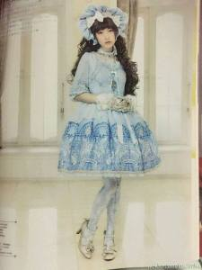 Luminous sanctuary OP Angelic Pretty