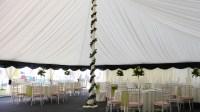 Center Pole Drapes - Rainier Tent Liners