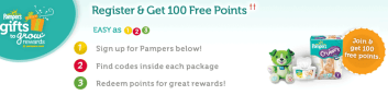 Screen shot 2011 03 24 at 4.57.12 PM Pampers Gifts To Grow: New 10 Point code + (New Members Get 100 FREE Points)