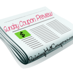 Sunday Coupon Preview 8/30 (1 Insert!)