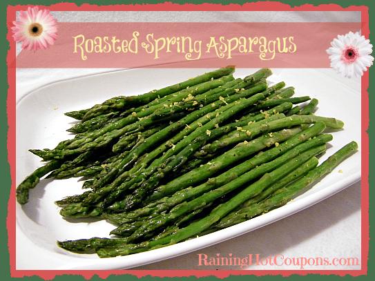 Roasted Spring Asparagus