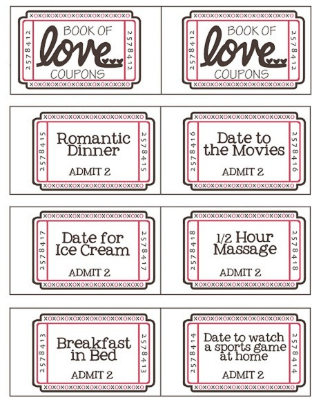 FREE Valentine\u0027s Day Coupon Booklet