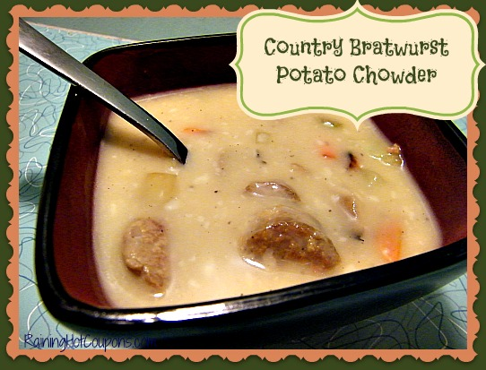 Country Bratwurst Potato Chowder Main