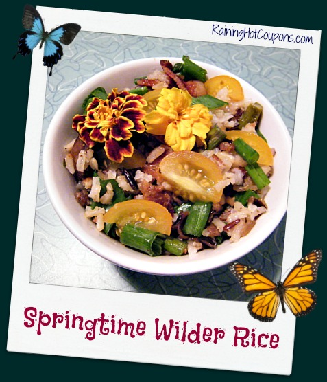Springtime Wilder Rice Recipe ~ Create a Rainbow of Flavor!