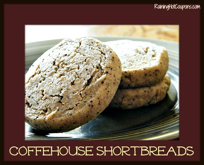 Coffeehouse Shortbreads Recipe ~ Bring the Coffeehouse to Your House!