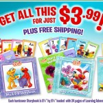 *HOT* HUGE 2 Elmo's Learning Adventure Sets (Books, Case, Cards, and More) + FREE Backpack Only $3.99 Shipped (A $44.75 Value)