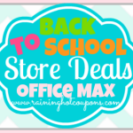 Office Max & Office Depot Back to School Deals 8/10/14