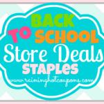 Staples Back to School Deals 8/10/14