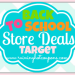 Target Back to School Deals 7/27/14
