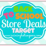Target Back to School Deals 7/20/14