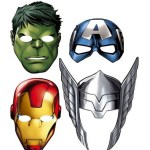 *HOT* Avengers Paper Masks (8 Count) Only $4.56 + FREE Shipping!