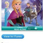 FREE Frozen Read Along iTunes App