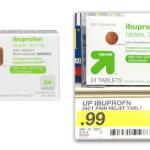 *HOT* 2 FREE Bottles of Up & Up Ibuprofen at Target!
