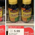 Target: Better Than FREE Nature Made Fish Oil Softgel Or Vitamin D