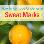 How To Remove Underarm Sweat Marks