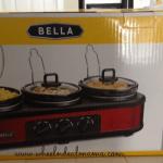 Target: Bella Triple Slow Cooker Only $19.99!? (Reg. $70)