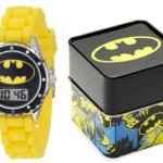 Amazon: Batman Kids Yellow Rubber Batman Watch Only $9.99!
