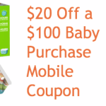 *HOT* Target: $20 Off a $100 Baby Purchase Coupon (Diapers, Wipes, Formula + more!)