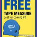 RC Willey Stores: FREE Tape Measure