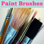 How To Easily Clean Paintbrushes
