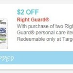 Target: Right Guard Deodorant Only $0.26 (Starting 3/16)