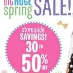*HOT* The Children's Place: 30% Off Entire Purchase + FREE Shipping (No Minimum!)