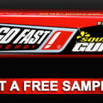 Free Sample of Go Fast Energy Squirt Gum
