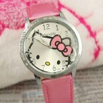 Hello Kitty Watches Only $3.03 + FREE Shipping (Pink, Blue, White, Black)
