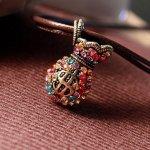Amazon: Vintage Retro Colorful Rhinestone Purse Necklace Only $1.97 Shipped