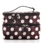 Amazon: Unique Dots Pattern Double Layer Cosmetic Bag Only $3.79 Shipped