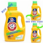 *HOT* Walgreens: Buy 1 Get 2 FREE Arm & Hammer Laundry Detergent = Only $1.67 a Bottle!