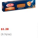 Barilla Whole Grain Pasta Only $0.78 at Walmart