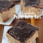 Chocolate Graham Cracker Peanut Butter Bars
