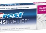 Crest Sensi-Relief Toothpaste only $0.99 at Rite Aid