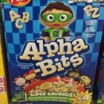 Target: Post Alpha-Bits Only $0.69