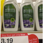 Seventh Generation Dish Liquid Only $0.19 at Target